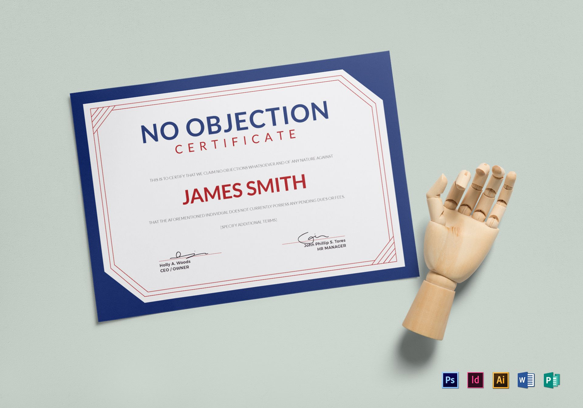 Sample No Objection Certificate