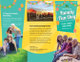 Simple Family Fun Day Tri-fold Brochure Template
