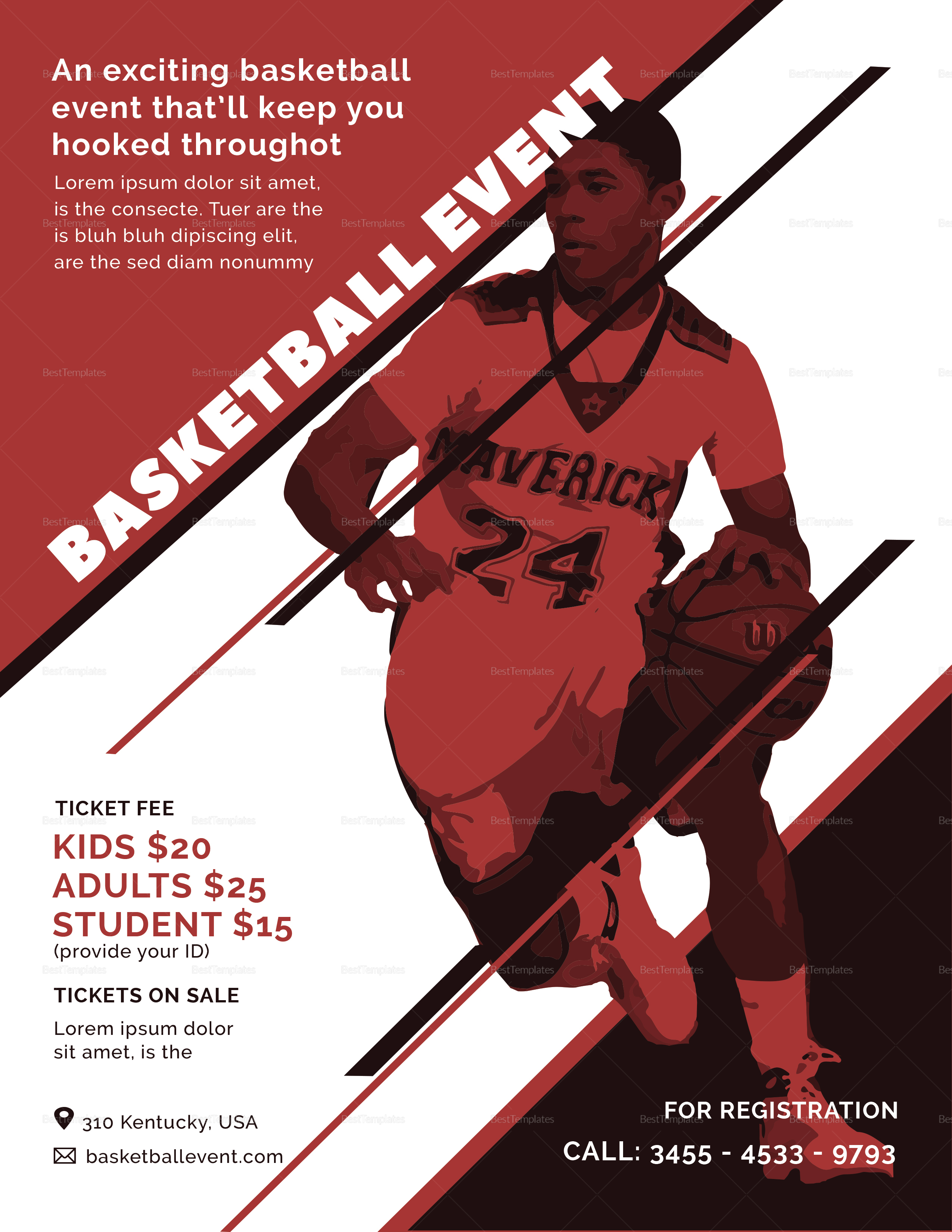Basketball Event Flyer