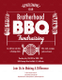Barbecue fundraising Flyer