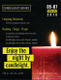 Candlelight Service Flyer