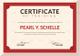 Sample Training Certificate Design