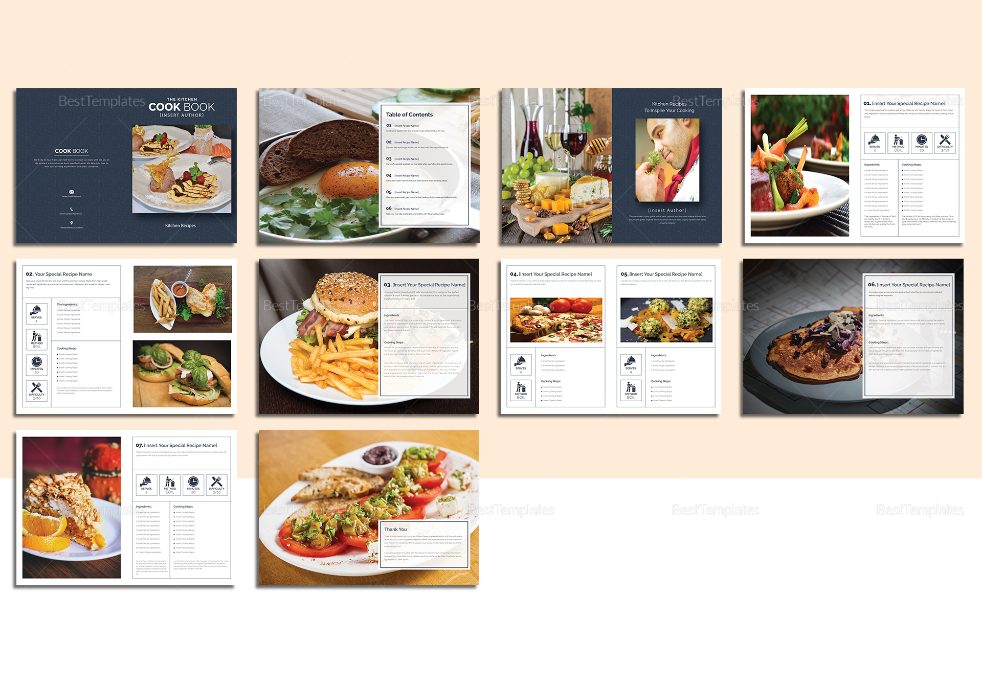 Printable Cookbook Catalog