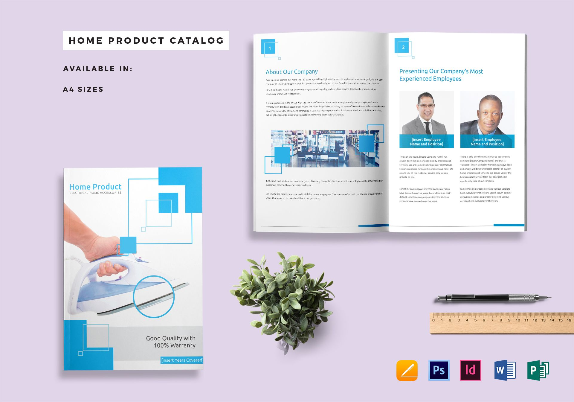 Home Product Catalog Template In PSD, Word, Publisher, InDesign, Apple Pages