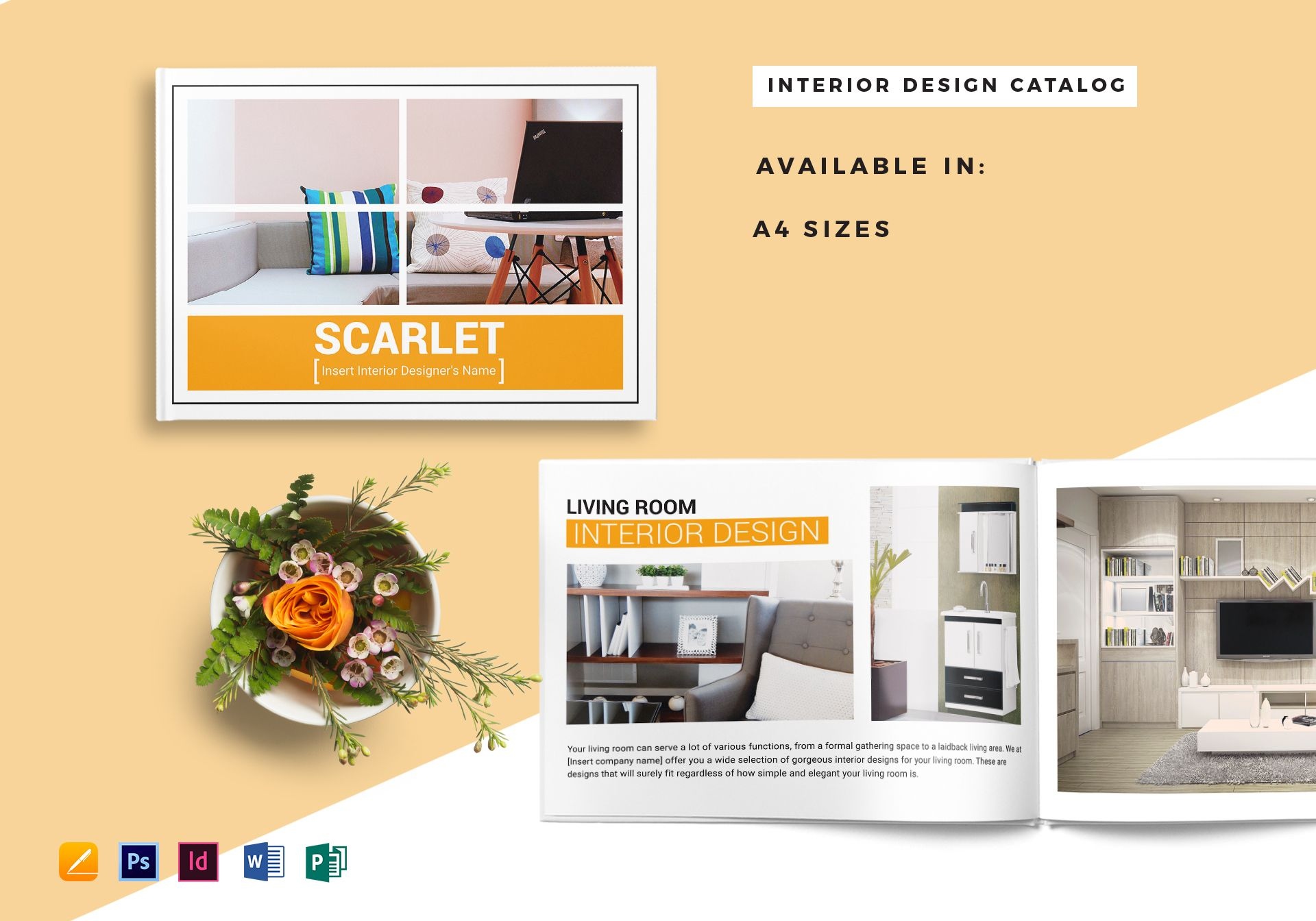 Home Interior Catalog Template