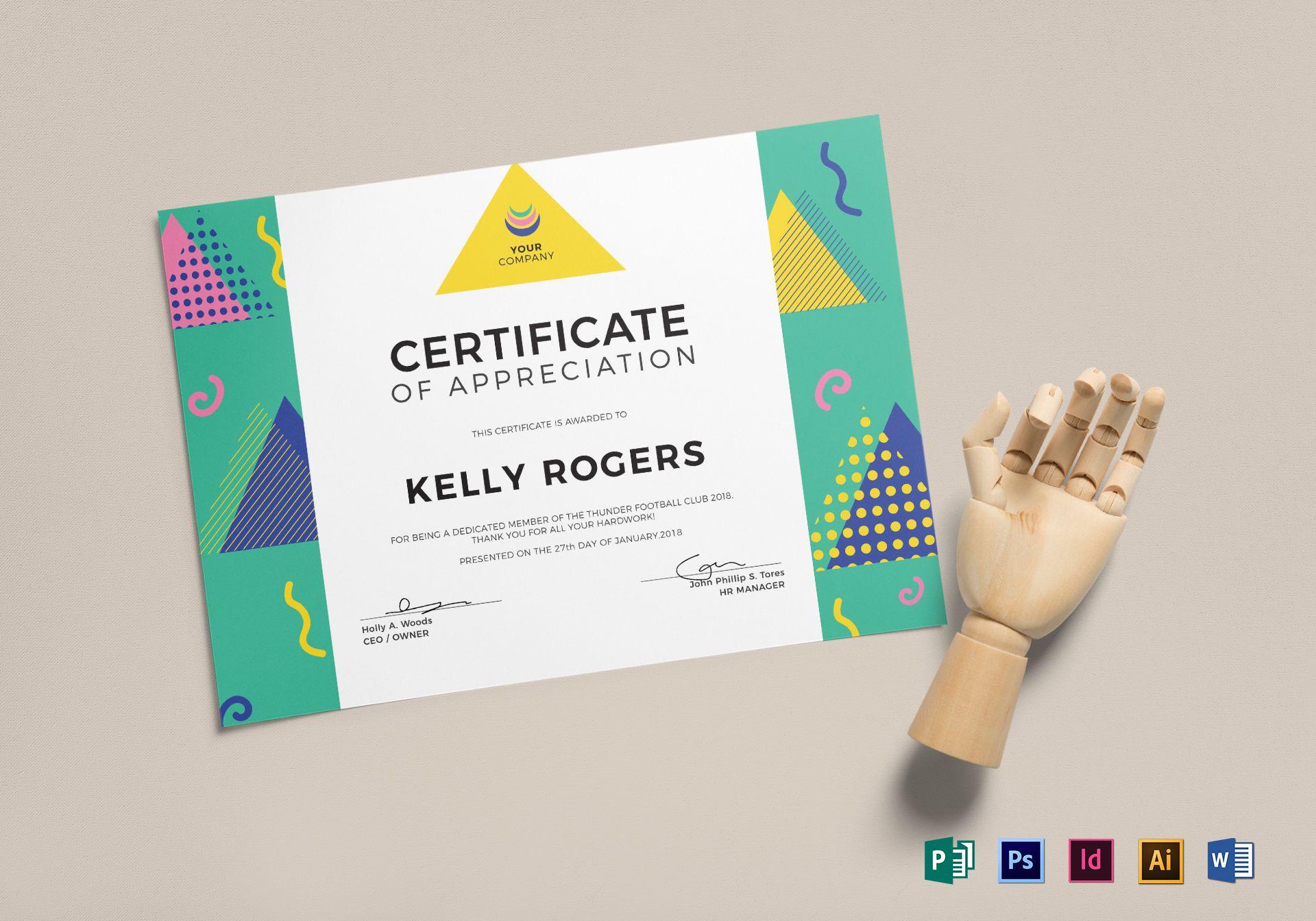 Big Triangle Certificate