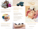 Sample Tri-fold Spa Brochure Template