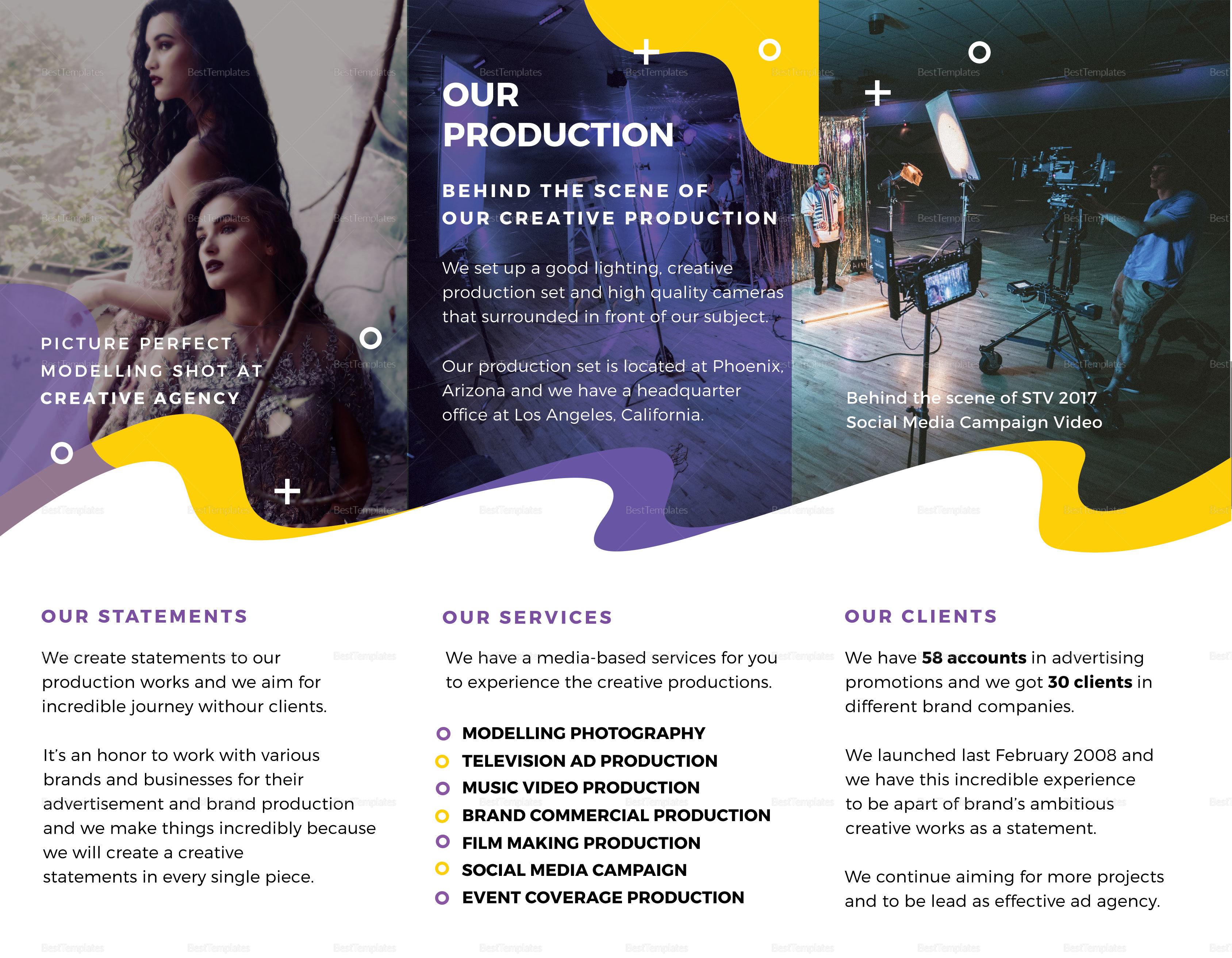 Simple Agency Brochure Template