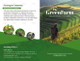 Sample Bi-fold Green Brochure