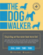 The Dog Walker Flyer Template to Print