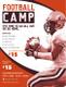 Sample Football Camp Flyer Template
