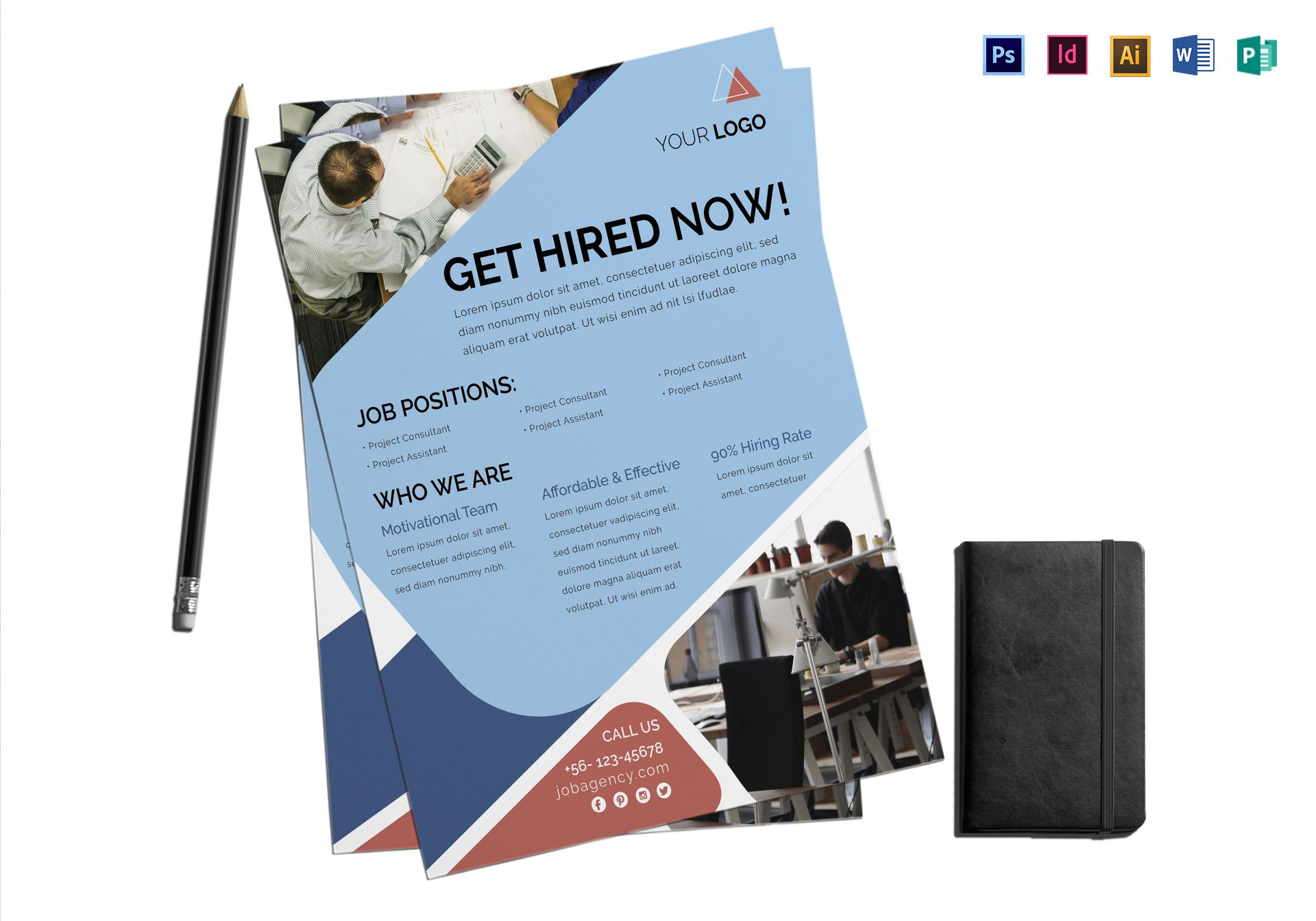 Job Agency Flyer Template