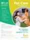 Pet Care Services Flyer