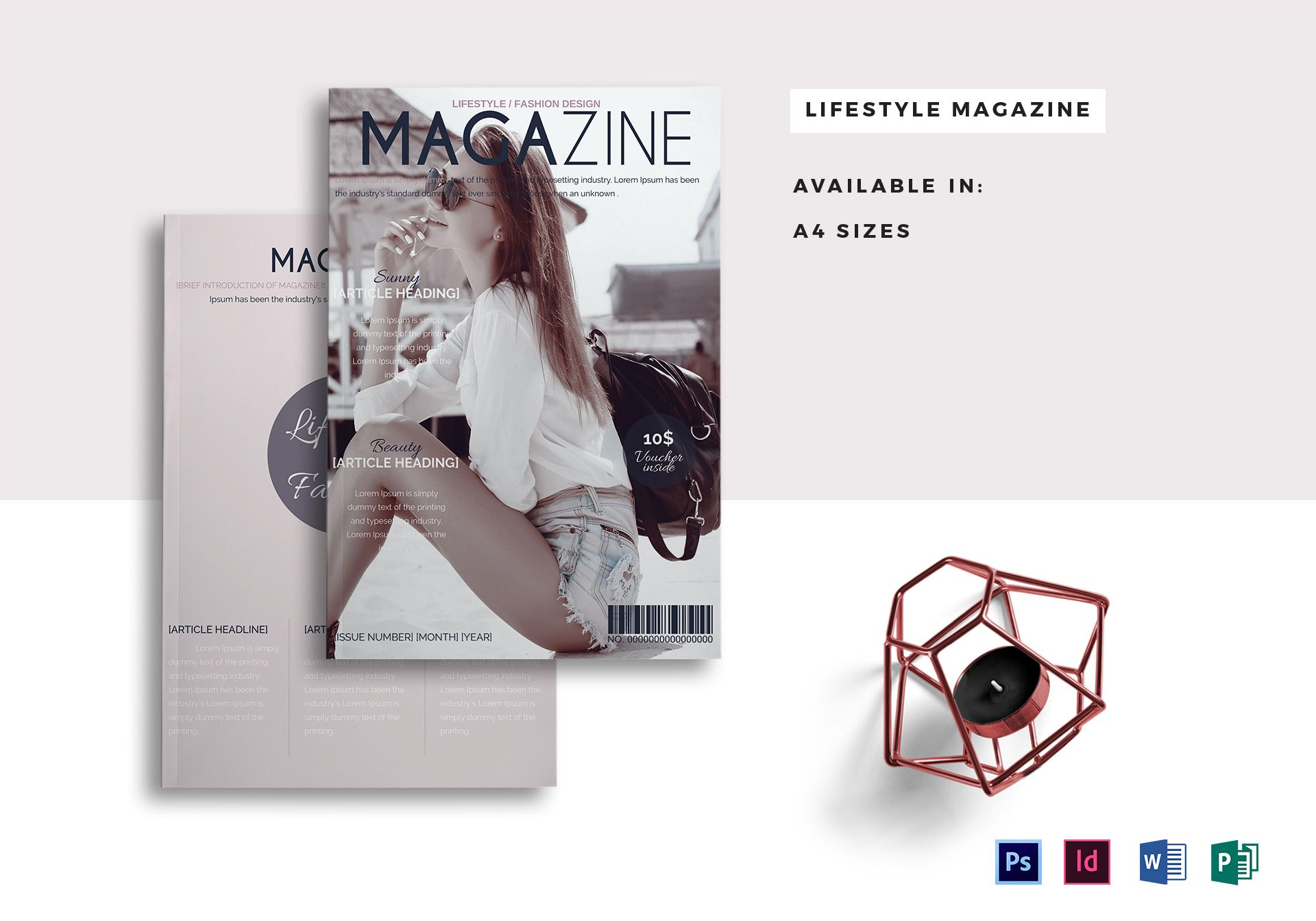 Modern Lifestyle Magazine Template
