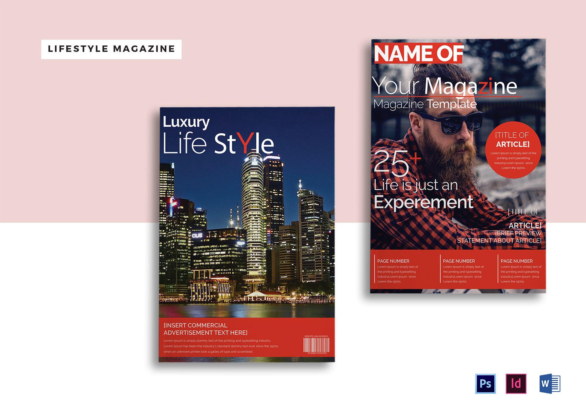 Luxury Lifestyle Magazine Template