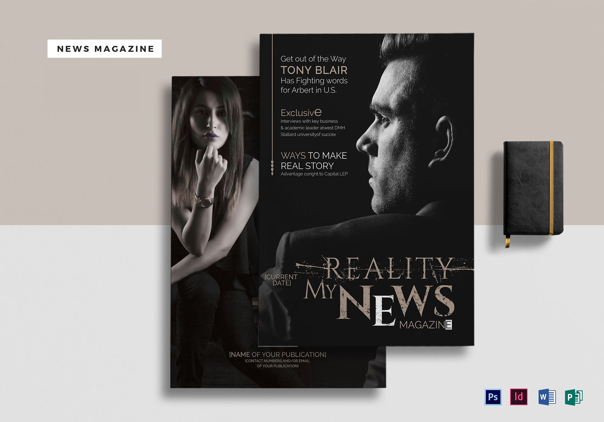 24 Pages News Magazine Template