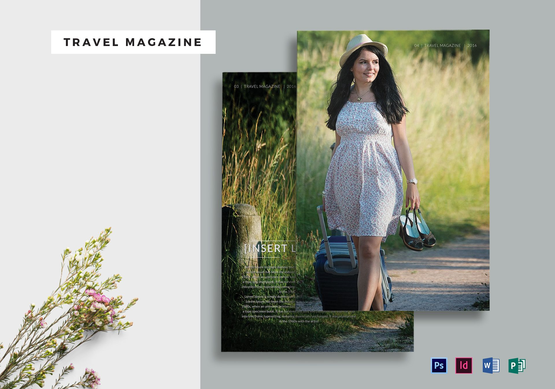 Travel Magazine Template
