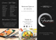 Sample Cuisine Tri-fold Menu Template