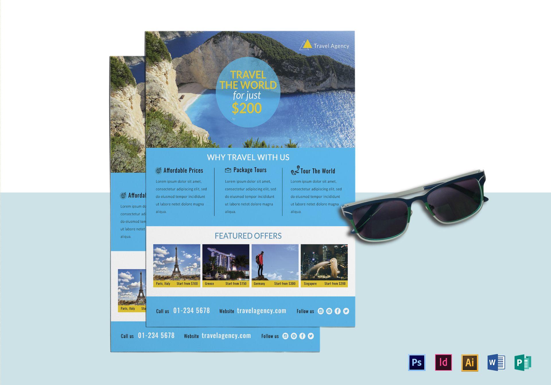 World Travel Agency Flyer
