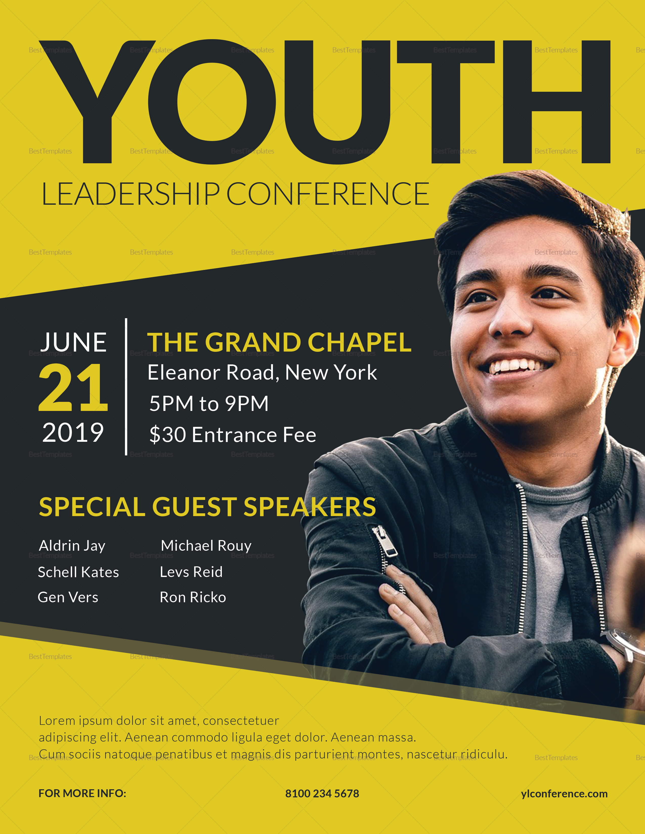 Young Leadership Conference Flyer