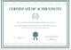 Brand Authenticity Certificate