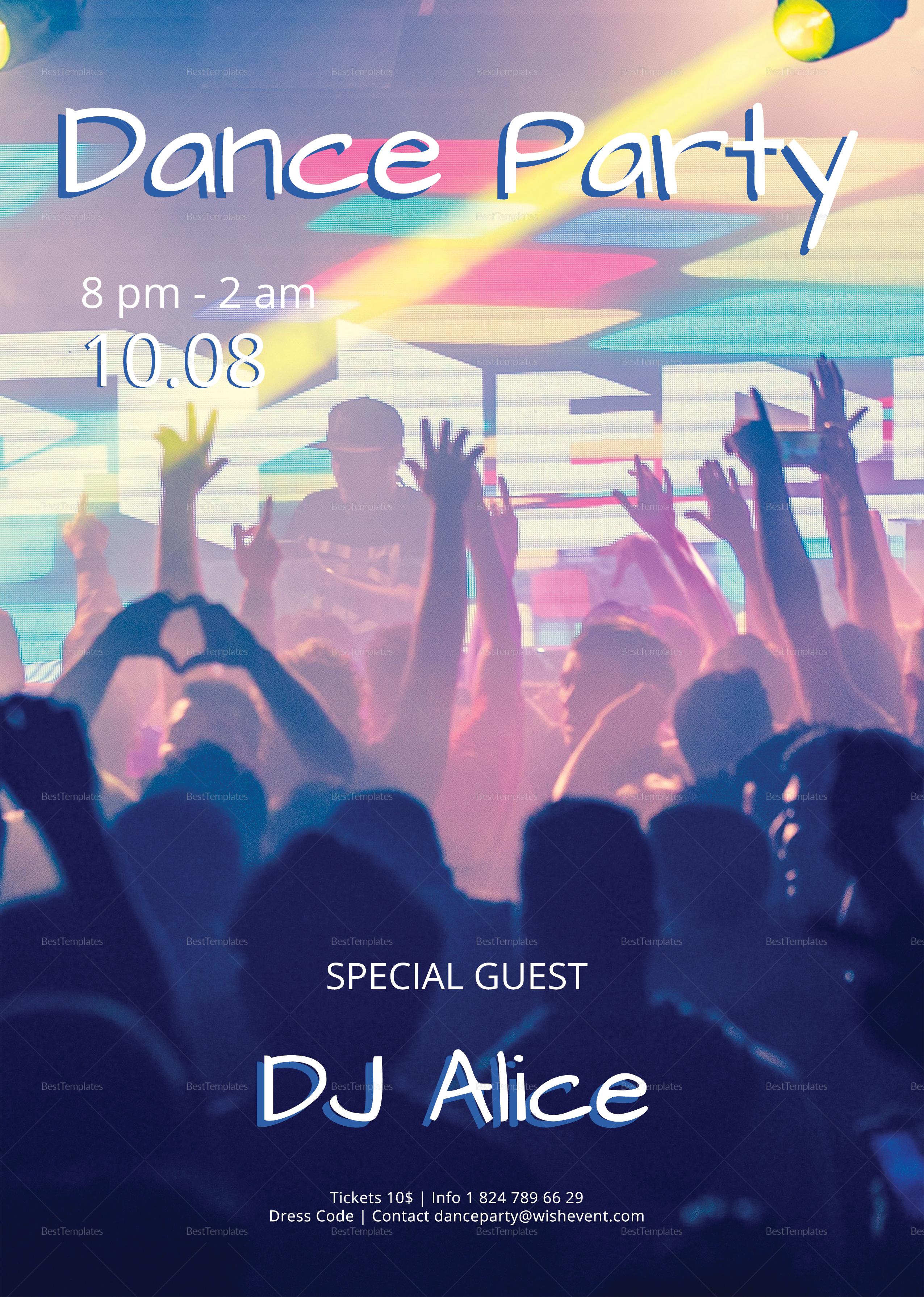 Special DJ Flyer