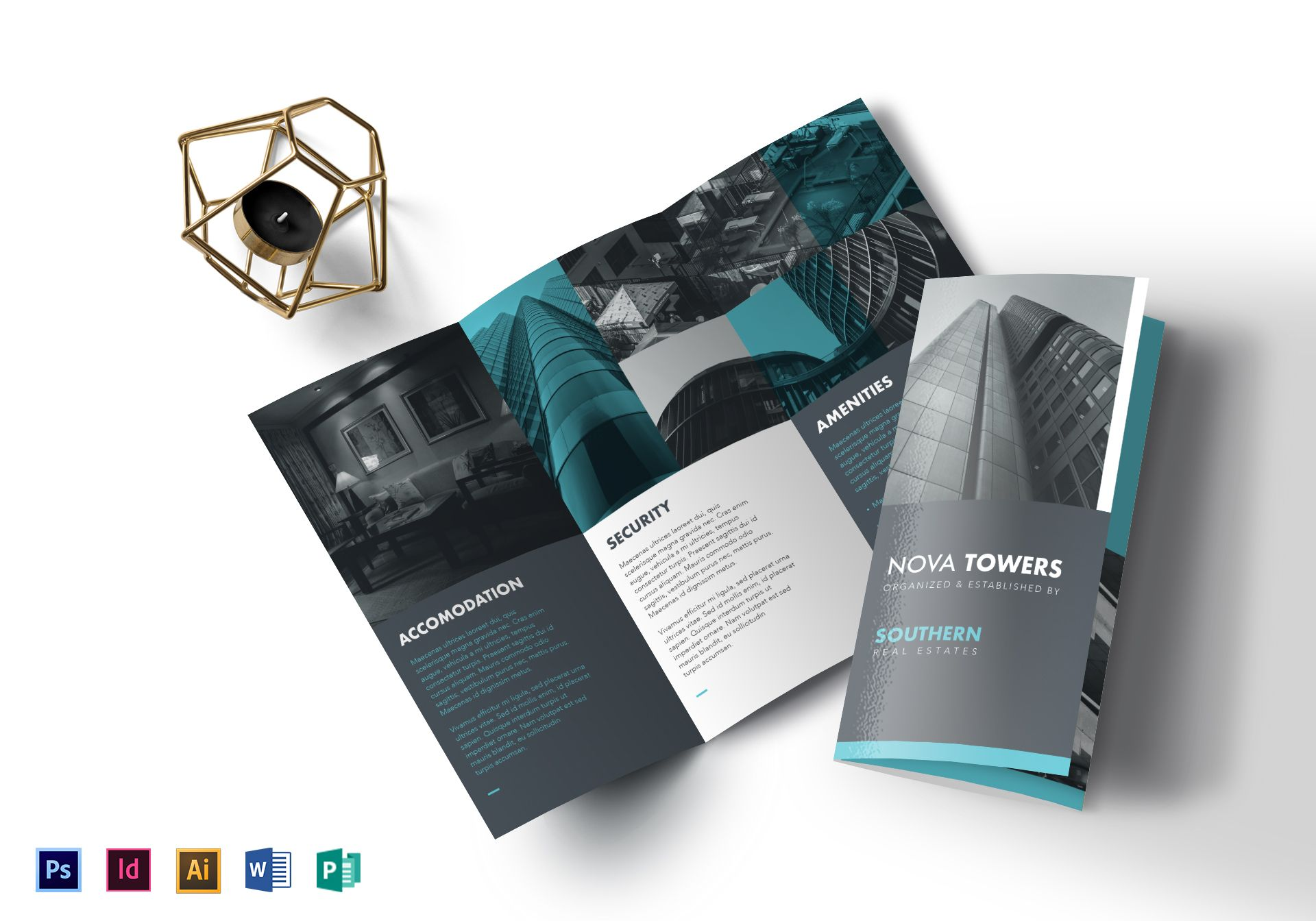 Real Estate Tri Fold Brochure