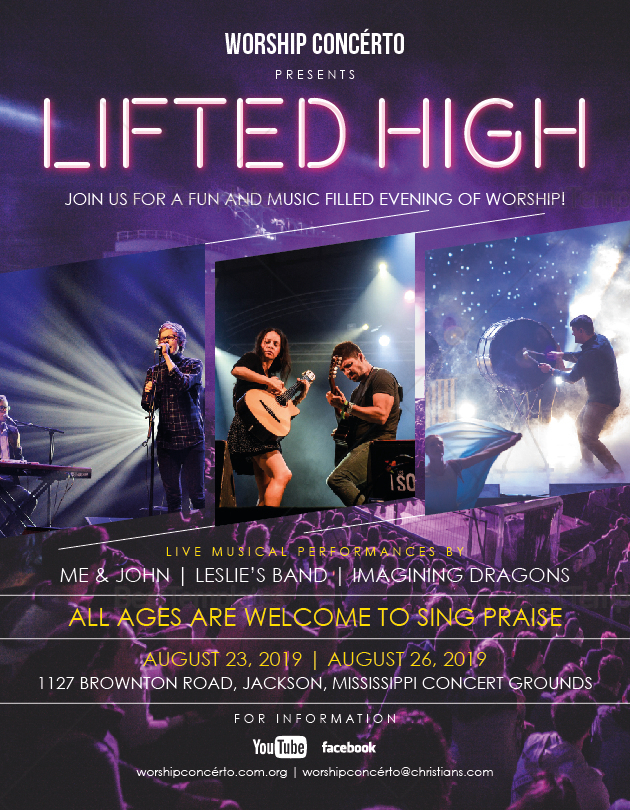 Worship Concert Flyer to Edit