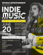 Sample Indie Band Music Flyer