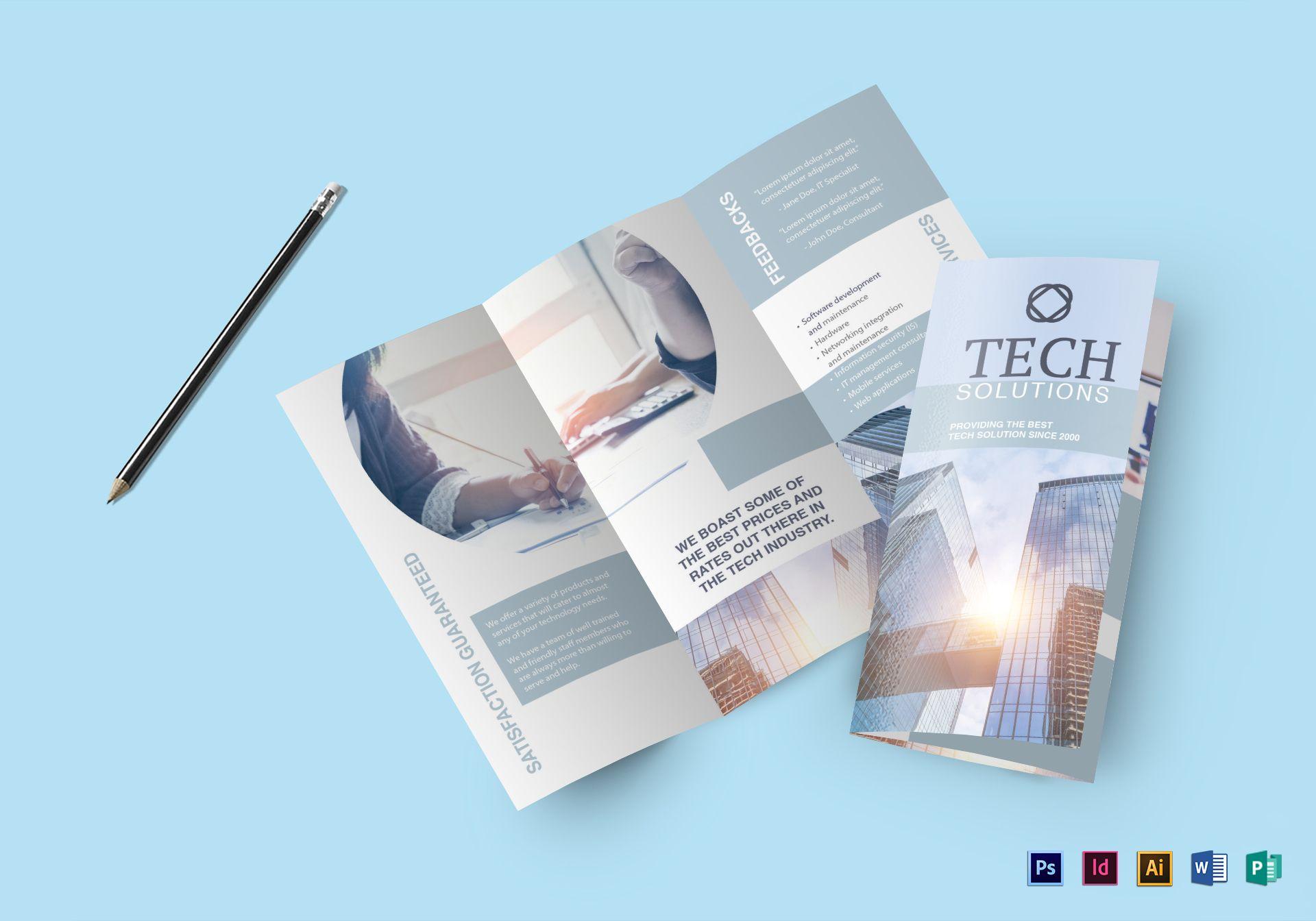 Modern Tech Brochure