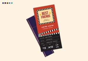 Ticket Designs Templates In Word Psd Publisher Ipages