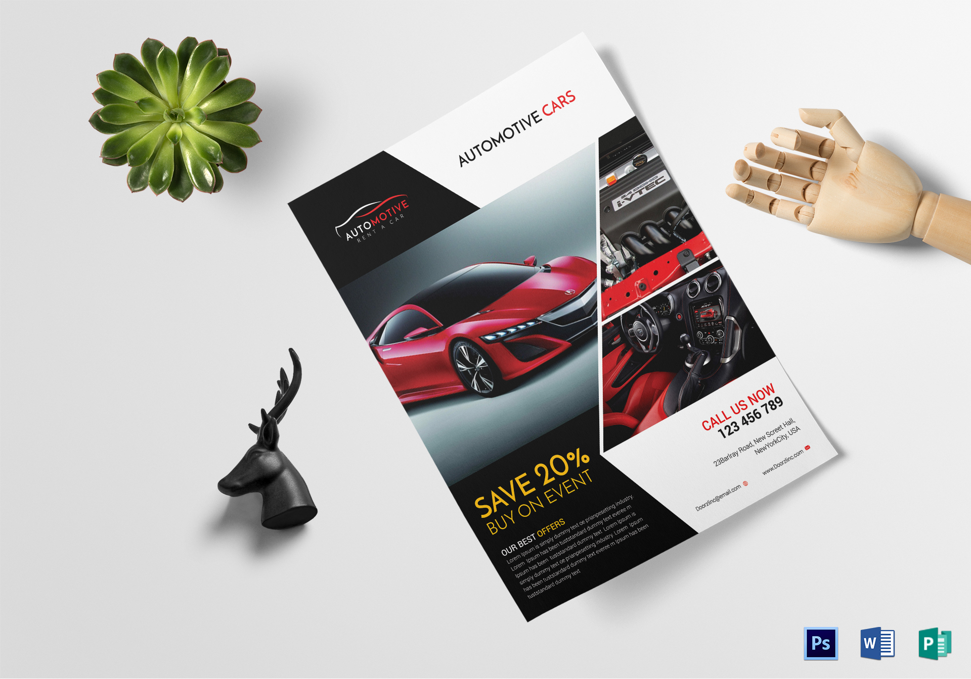 Automotive Car Sales Flyer