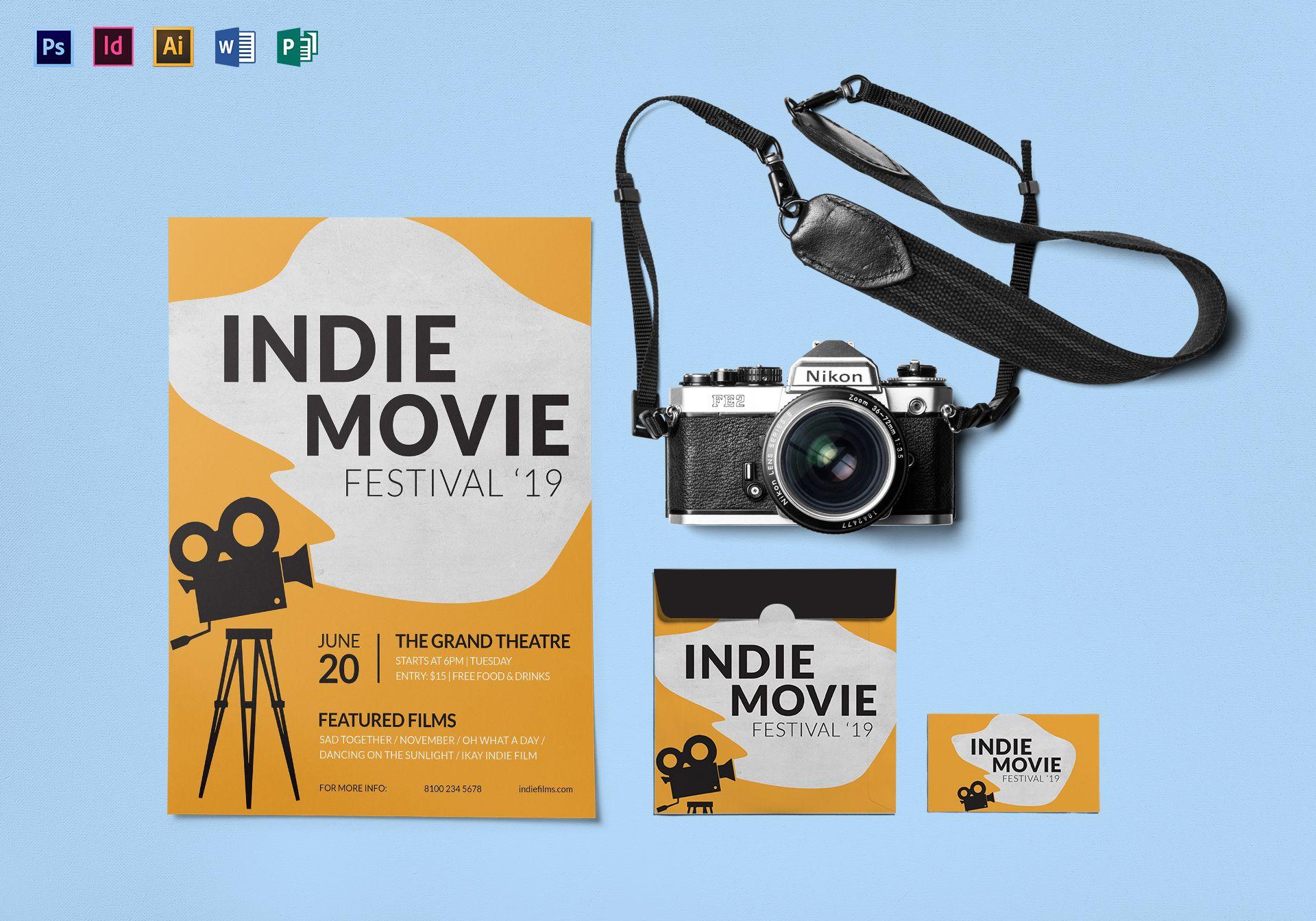 Indie Movie Festival Flyer