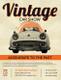 Vintage Car Show Flyer to Print