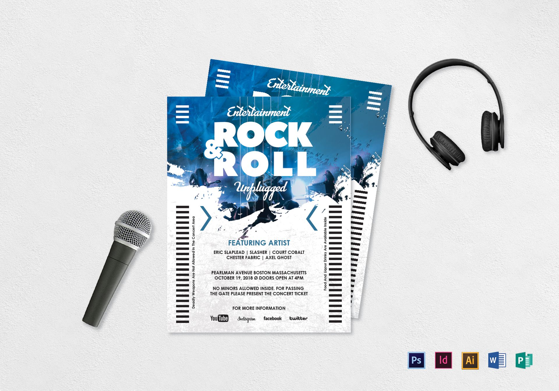 Rock and Roll Flyer