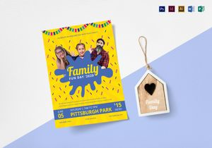 Event flyer designs templates in illustrator word psd family fun day flyer template pronofoot35fo Images