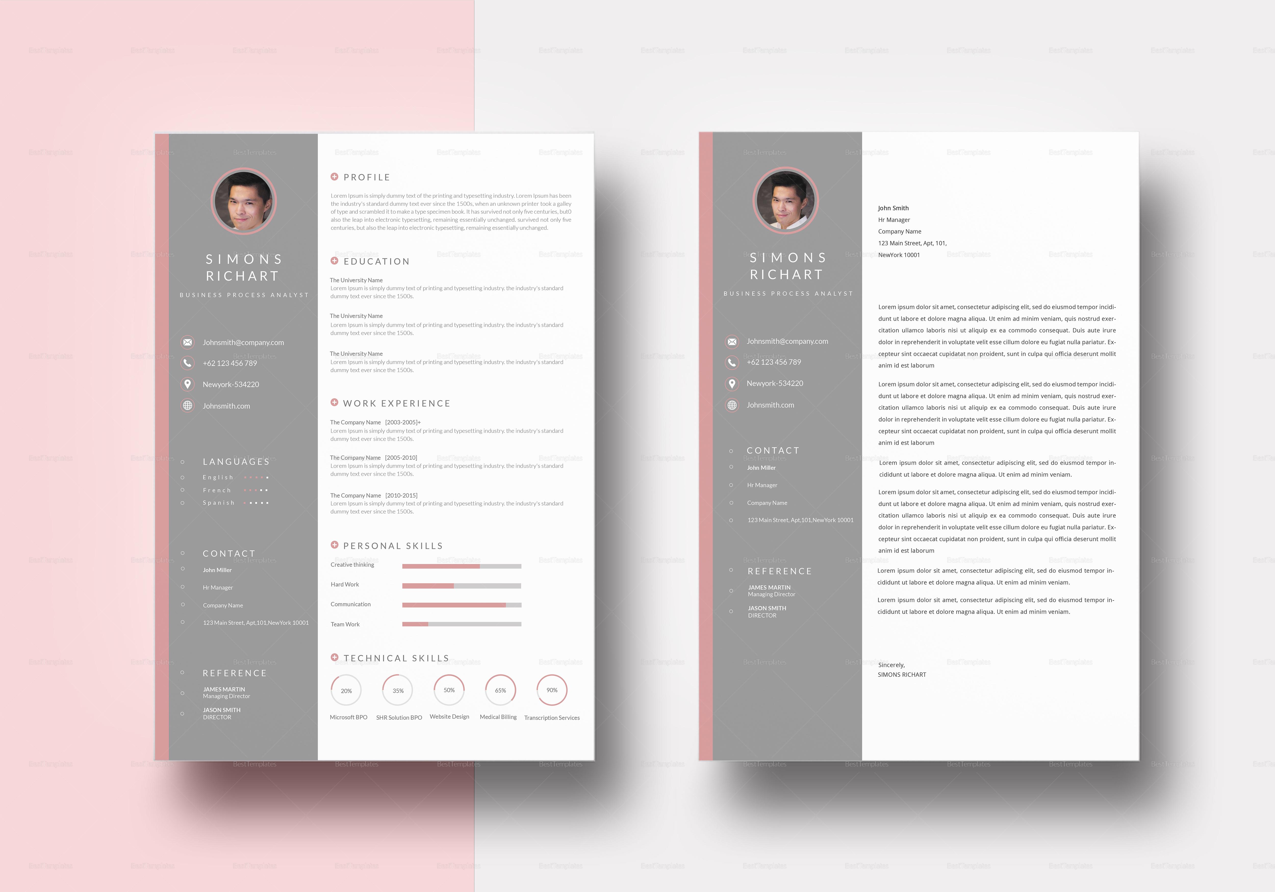 BPO Analyst Resume