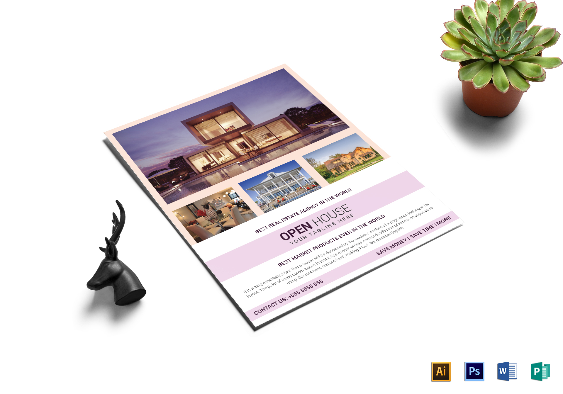 Real Estate Agency Open House Flyer