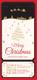 Silent Night Christmas Ticket