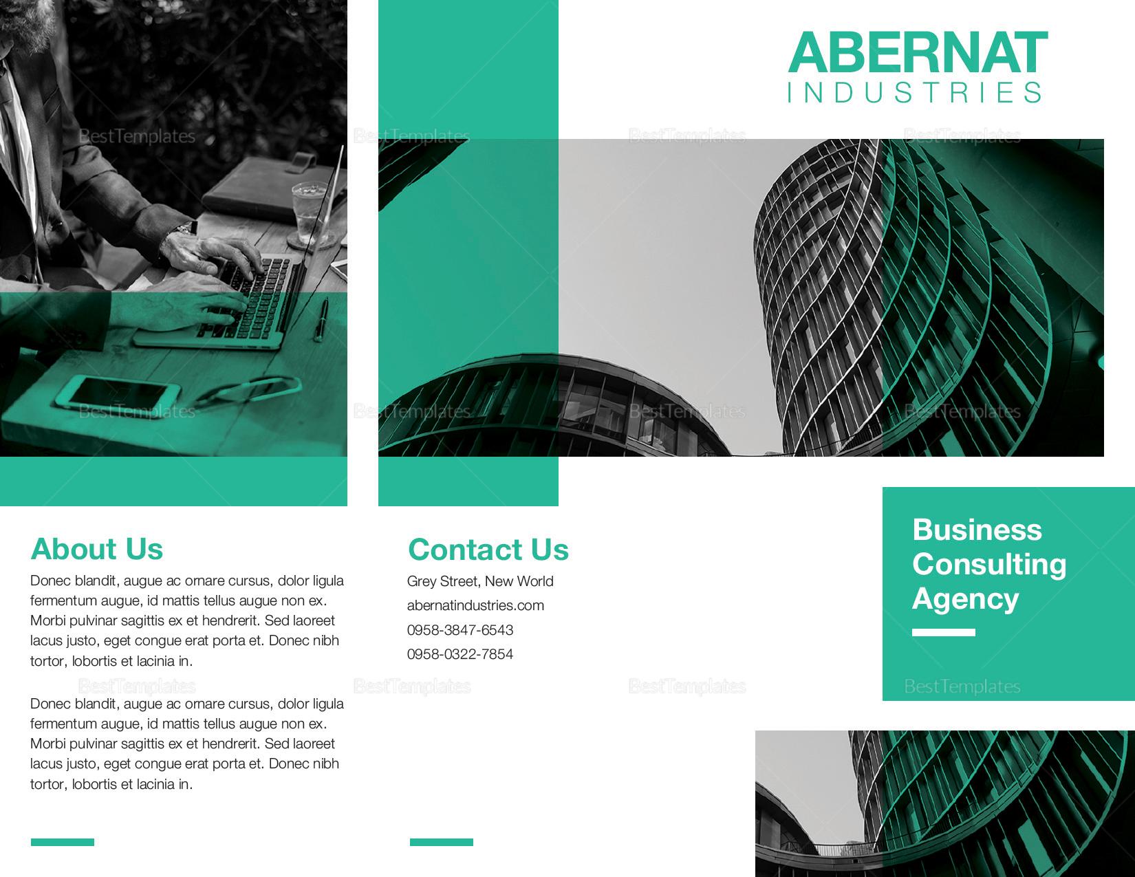 Multipurpose Tri-fold Brochure to Edit