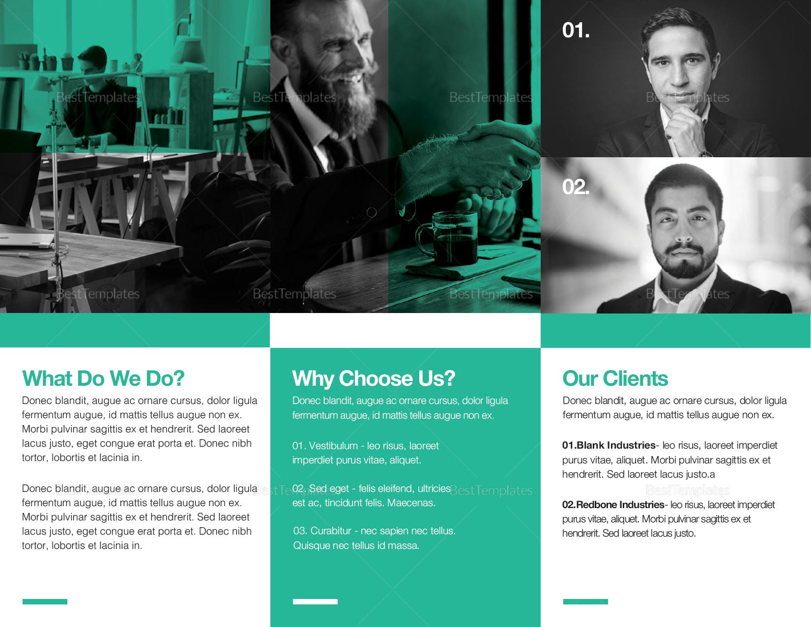 Multipurpose Tri-fold Brochure to Print