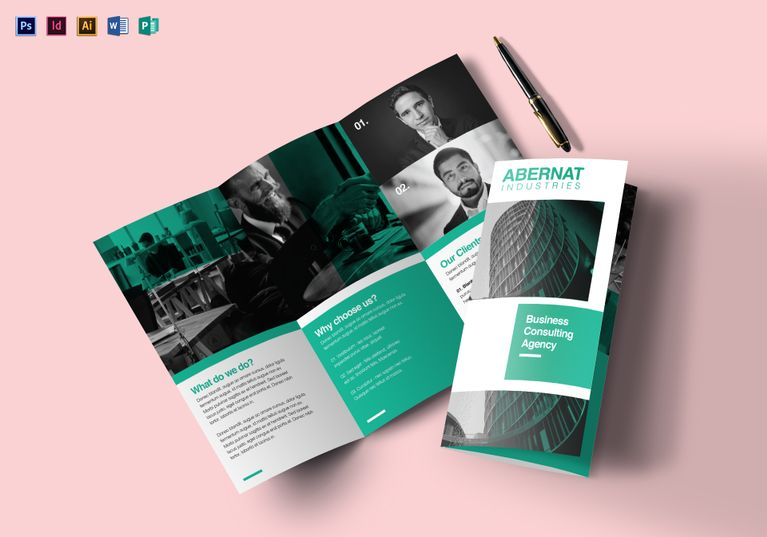 multipurpose tri fold brochure