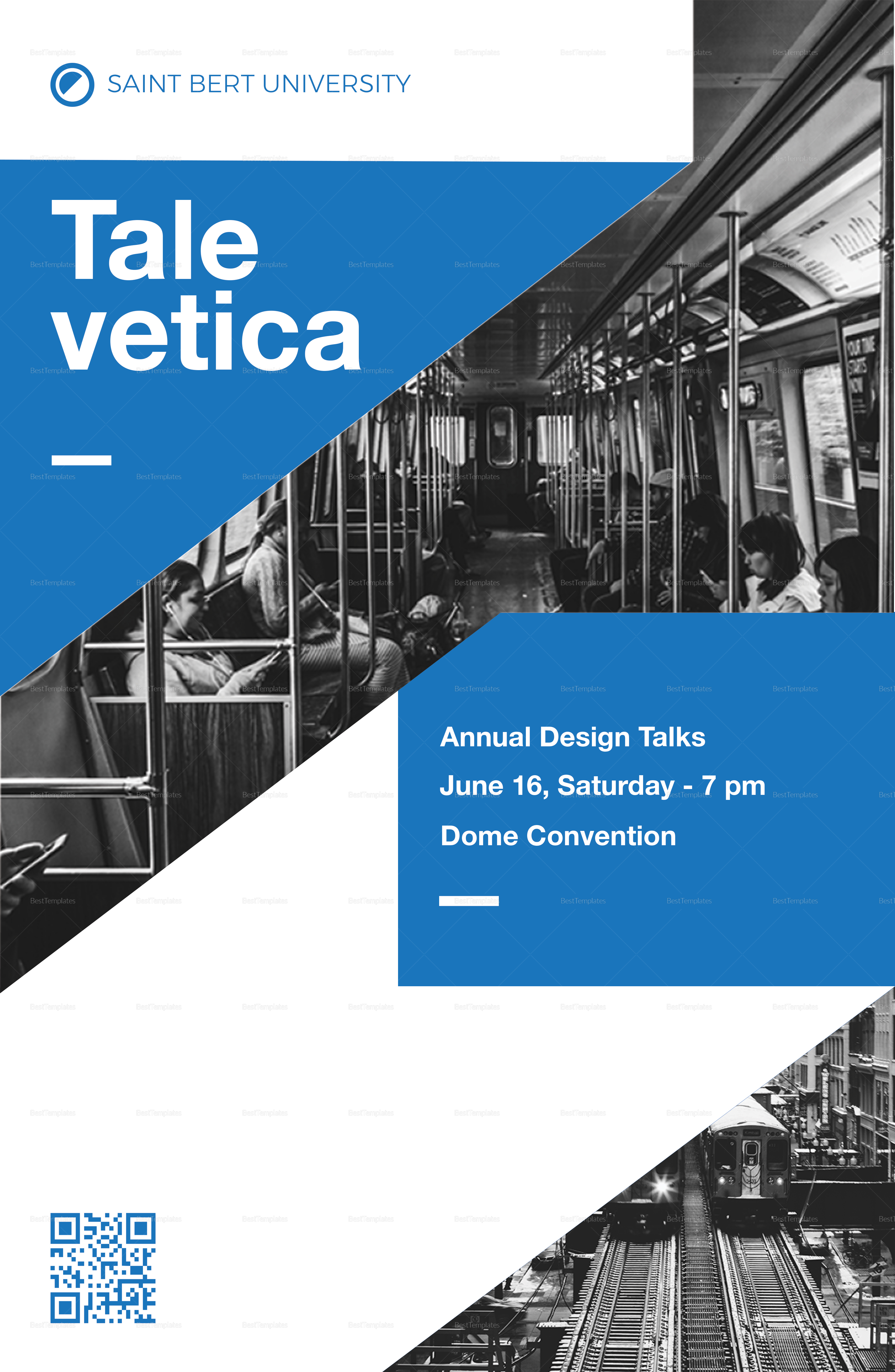 Graphic Design Poster Template