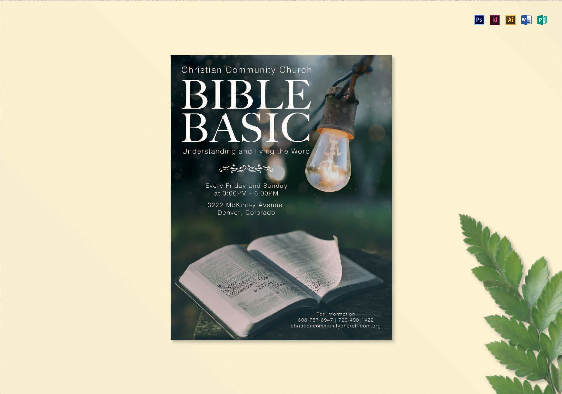 Bible Basic Flyer