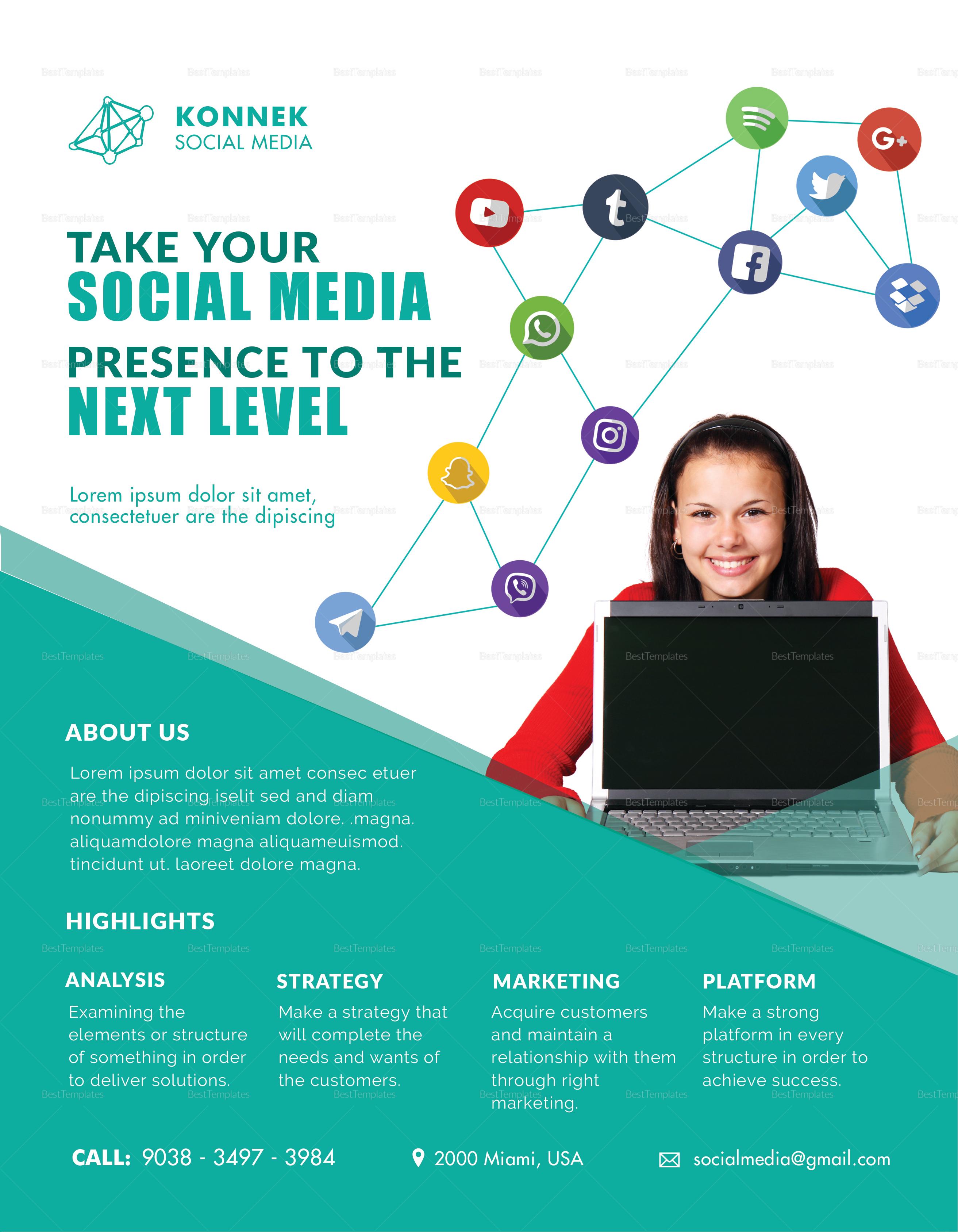 Social Media Flyer Template