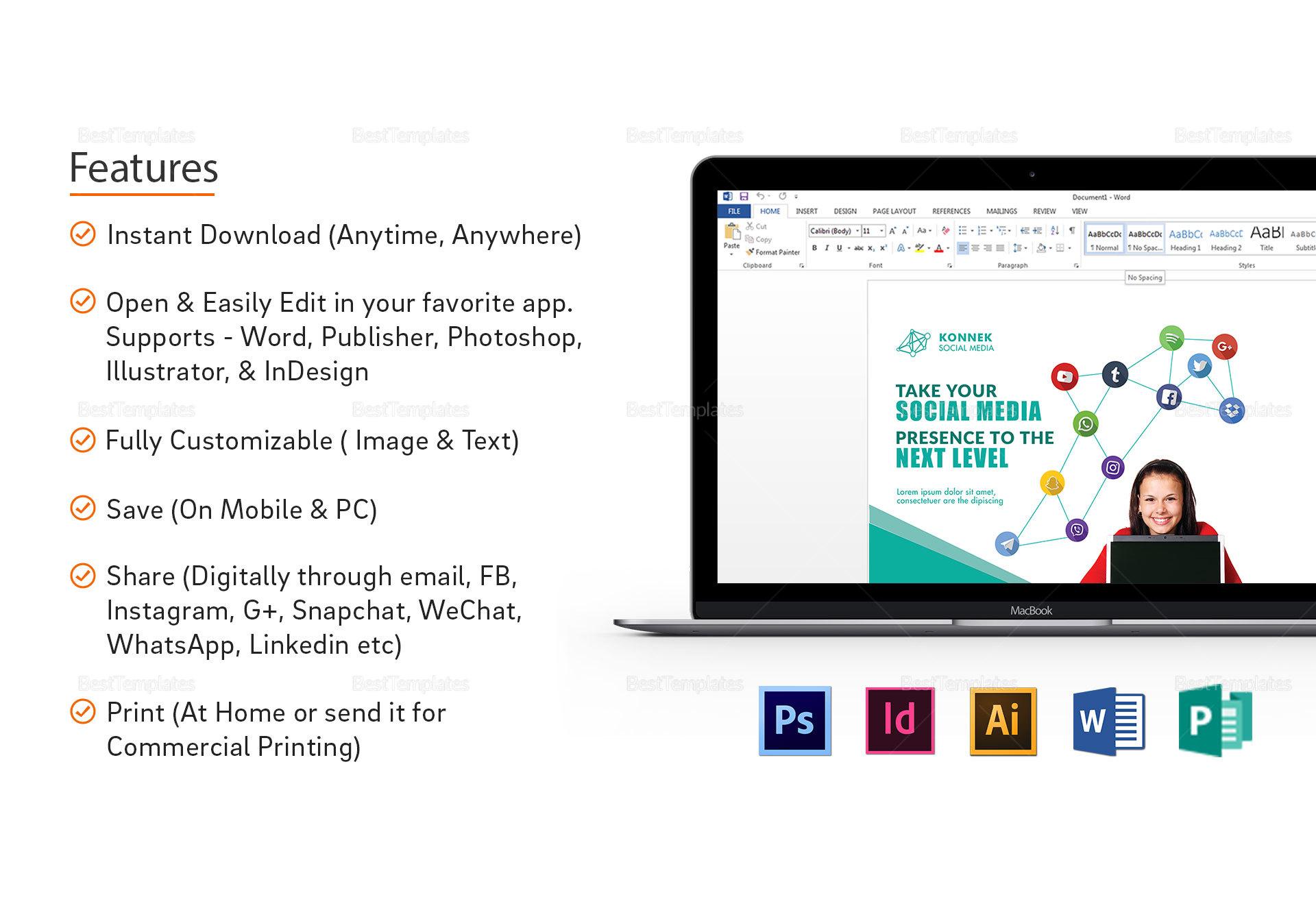 Social Media Flyer design