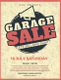 Vintage Garage Sale Flyer Template