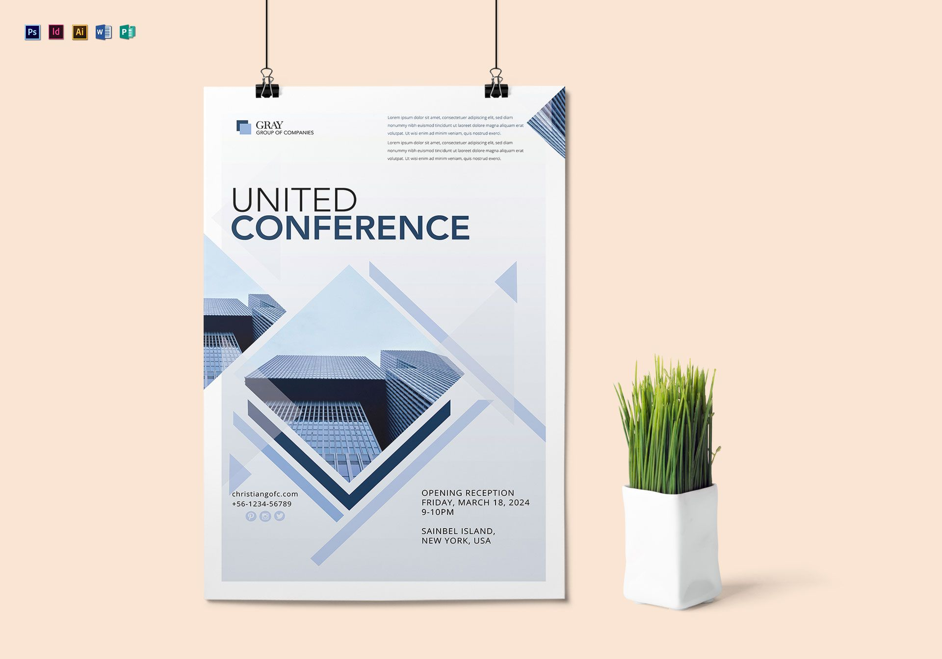 United Conference Poster