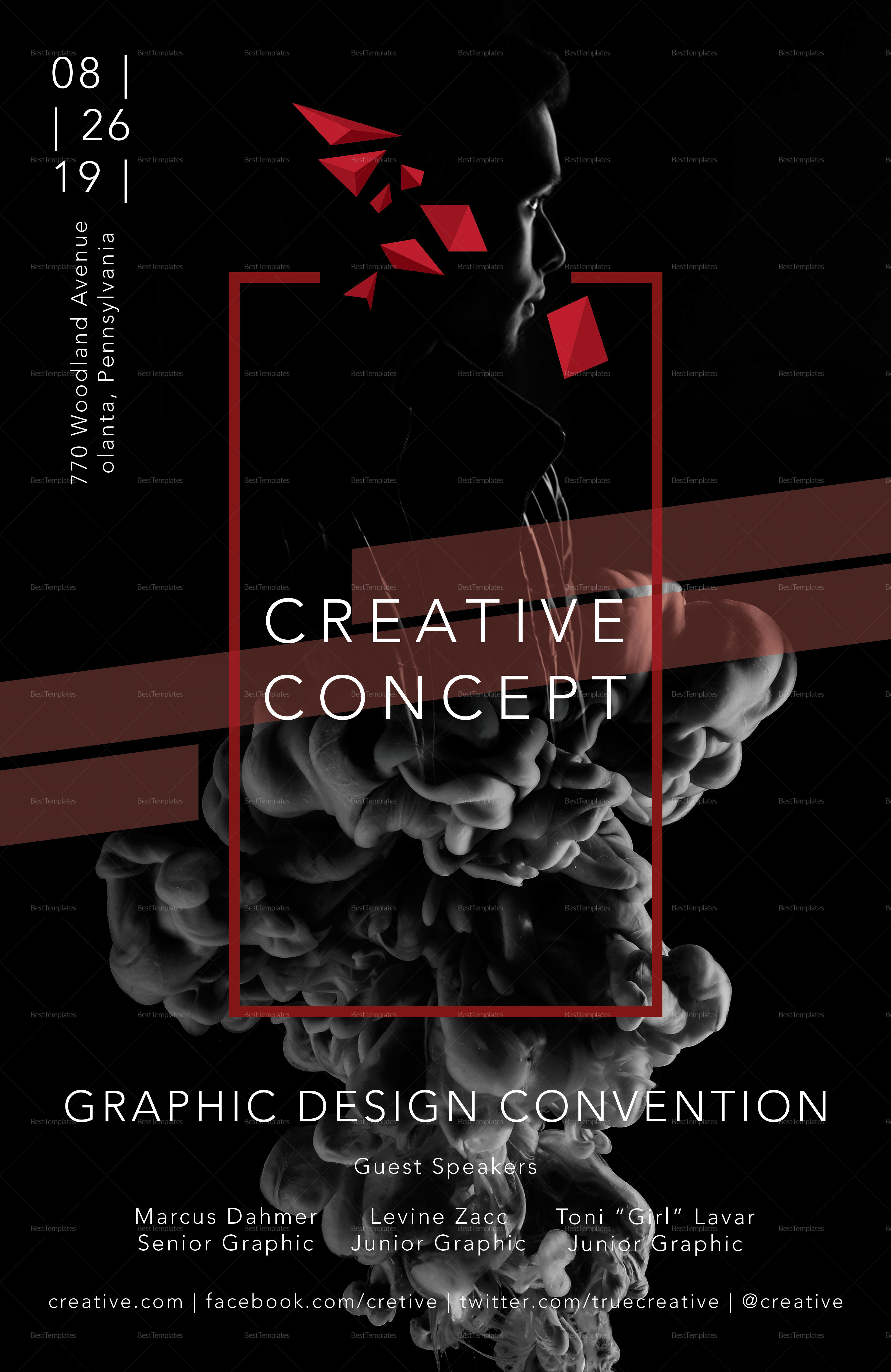 Creative Concept Poster Template