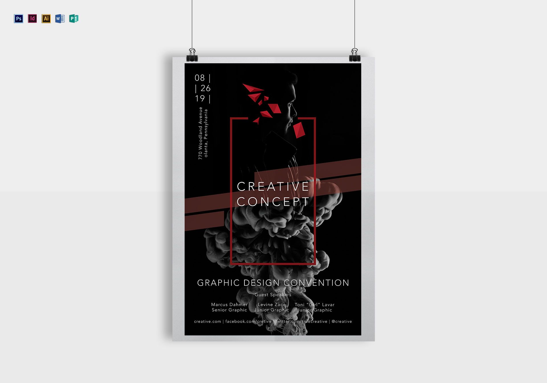 Creative Concept Poster
